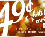 Holiday Cards for 49Ã' ¢ Each Shipped to Your Recipients from Cardstore.com (Exp 12/3)