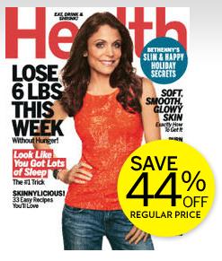 Health magazine December 2012