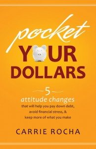 Pocket Your Dollars Book Cover