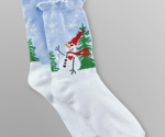 Kmart: Women's Holiday Socks for $0.59 Each, Star Wars Slippers $2.25 Each + Free Store Pickup
