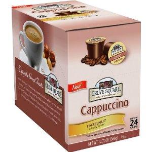 Amazon Grove Square Cappuccino K-Cups