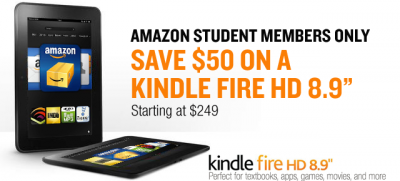 Amazon Student Kindle Fire HD
