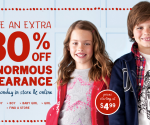 OshKosh B'Gosh 30 off clearance