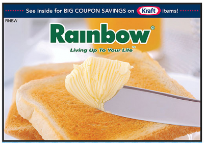 Rainbow Foods coupon book 1.10.13