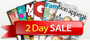 DiscountMags 2-day sale