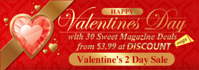 DiscountMags Valentine's Day Sale