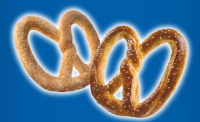 Auntie Anne's $1 pretzel