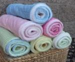 Bebe Bella Designs: 80% Off Ribbon Collection Blankets, Bibs, Crinkle Toys + More