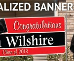 Personalized Banners (18″ x 54″) for $3.95 Shipped