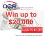 Nielsen Home Scan Consumer Panel: Earn Points for Prizes and $500 or $20,000 Sweepstakes Entries