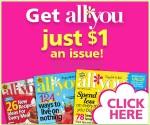 All You Magazine: 6 Issues for $6 (Exp 4/30)
