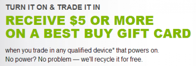 Best Buy electronics recycling