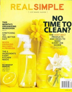 Real Simple April 2013