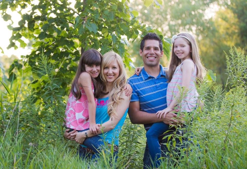 Stephanie Gutierrez and family