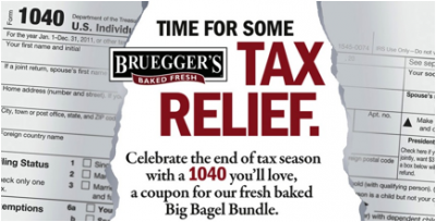 Bruegger's Big Bagel Bundle