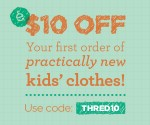 thredUP Coupon Code: Free $10 Credit Toward Like-New Children's Clothing (Exp 4/10)