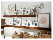 Frame It Chic Wall and Table Displays Pottery Barn