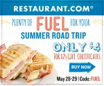 Restaurant.com: $4 for $25 Off Dining Coupon (Purchase By 5/29; Redeem Anytime)