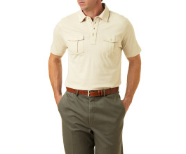 Haggar Double Pocket Polo