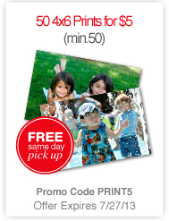 CVS 50 prints for $5