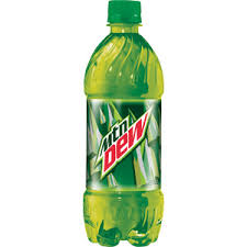 Mountain Dew 20 oz printable