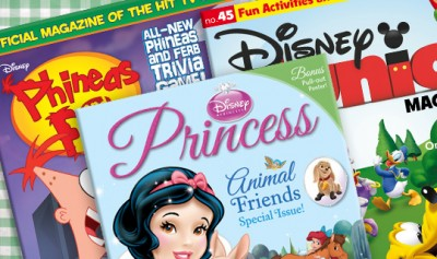 Plum District Disney kids magazines