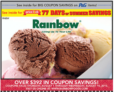 Roundy's coupon book 8.1.13