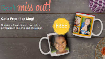 Snapfish free photo mug