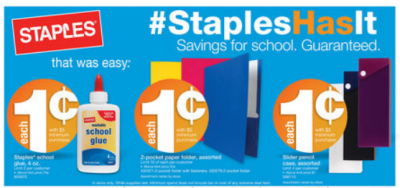 *UPDATED* Staples: Free Multipurpose Paper and Photo Paper After Easy Rebate + In-Store Deals for 1  ¢ (Exp 8/3)