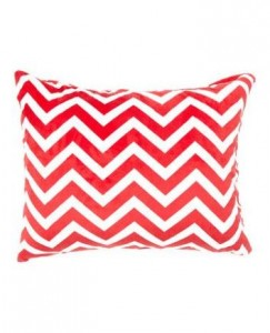 Bebe Bella Designs chevron minky chenille pillowcases