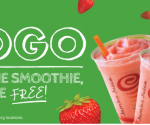 Restaurant Deals: Free Caribou Coffee, McDonald's Halloween Coupon Booklet, B1G1 at Jamba Juice + More