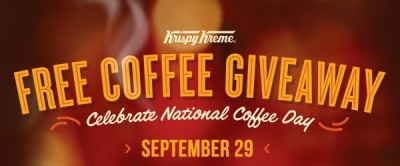 Krispy Kreme national coffee day