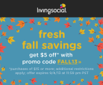 LivingSocial: $5 Off $15+ = Deals on Photo Books, iPad Covers, Champps + More (Ends Today, 9/4)