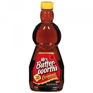 Mrs. Butterworth's printable