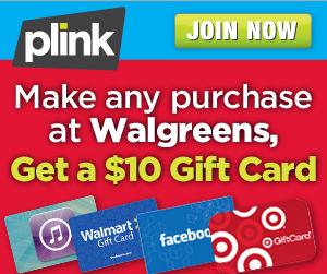 Walgreens Plink