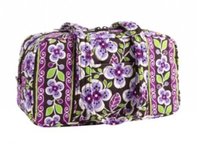 100 Handbag in Plum Petals