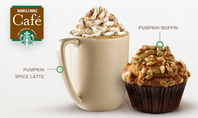 Barnes & Noble Spiced Pumpkin Muffin