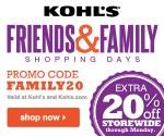 Kohl's FAMILY20