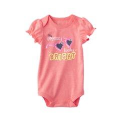 Target baby girls' onesie