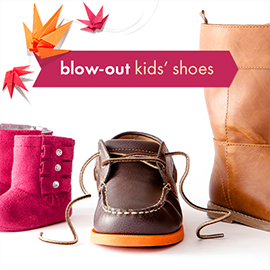52206ad5 Zulily Fall Blow-Out Sale: Kids' Shoes, Boys' Apparel for $1.99+
