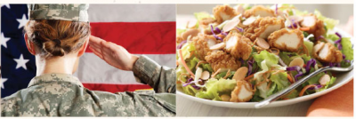 Applebee's Veterans Day