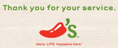 Chili's Veterans Day