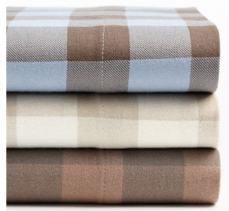 Ideal Kohl us Home Classics Buffalo Check Flannel Sheet Set