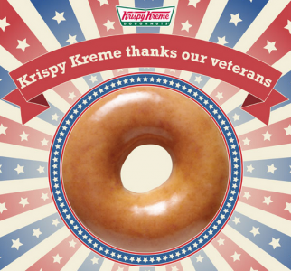 Krispy Kreme Veterans Day