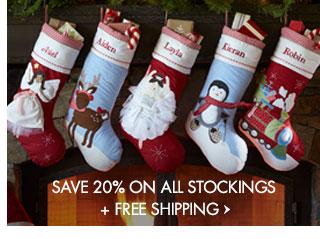 Christmas Stockings Pottery Barn.Pottery Barn Kids Stockings 20 Off Free Shipping