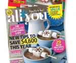 All You Magazine: 2-for-1 Subscription Sale, 83  ¢/Issue (Exp 12/31)