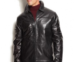 Macy's: Men's IZOD Leather Jacket for $140 (71% Off) + Free Shipping (Exp 11/20)
