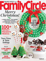 Family Circle December 2013