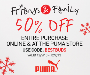 Puma Friends and Family Sale: 45% Off Full-Priced Or 25% Off Sale Items at counbobsbucop.tk