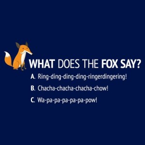 lolshirts What Does the Fox Say t-shirt